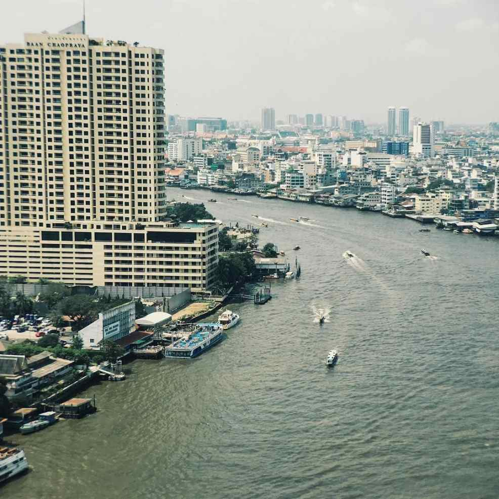 Great views in our Bangkok Expeience