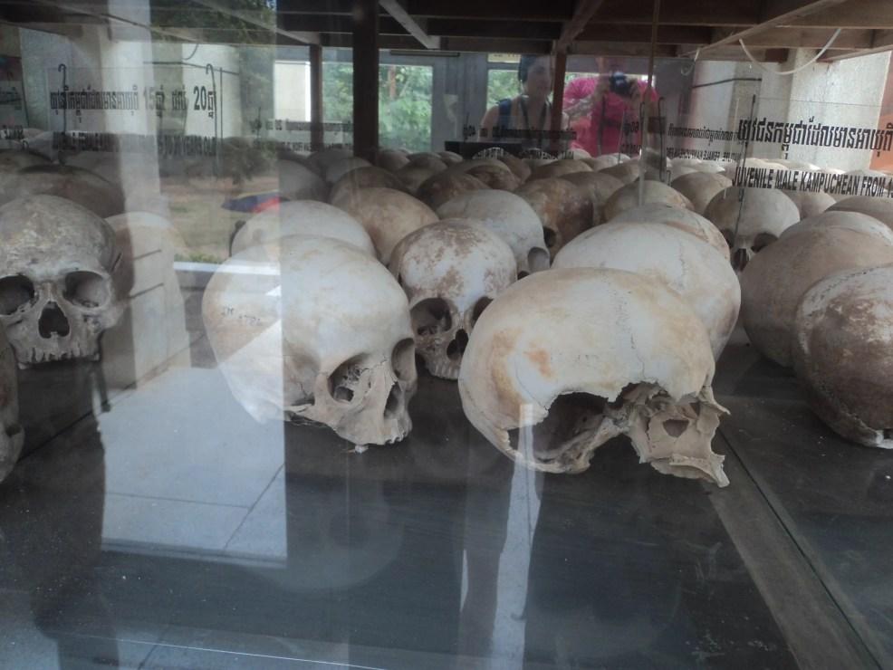 Killing fields while visiting Phnom Penh