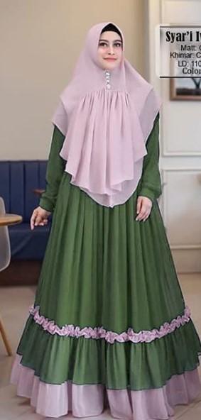 Tips Mix And Match Baju Muslim Warna Hijau Dengan Berbagai Warna
