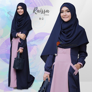 Gamis Yasmeera Raisa Dress R-2
