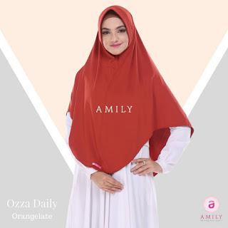 Hijab Amily Ozza Daily Orangelate
