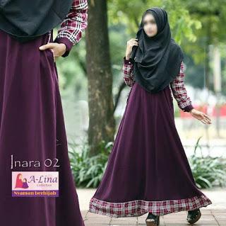 Gamis A-lina Collection Inara 02