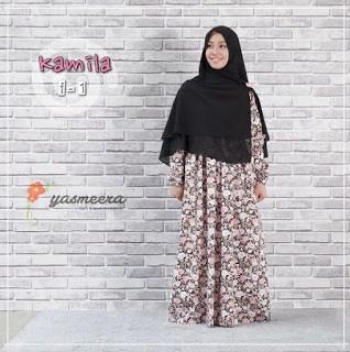 Gamis Yasmeera Kamila Dress I-1