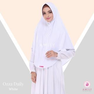 Hijab Amily Ozza Daily White