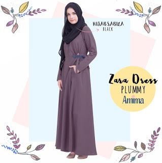Gamis Amima Zara Dress Plummy