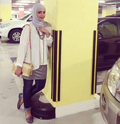 jilbab model wanita kuwait