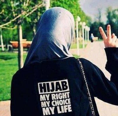 tidak memakai jilbab?