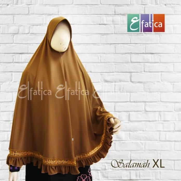 Jilbab syar'i instan terbaru model salamah