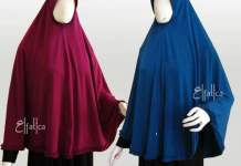 contoh jilbab instan syar'i