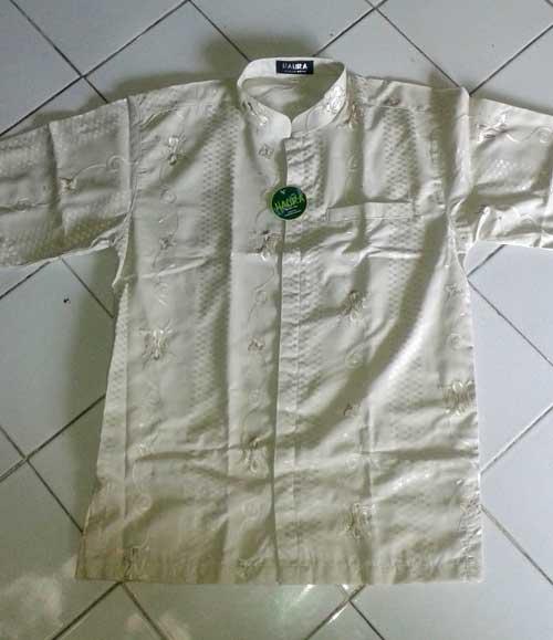 contoh baju koko dibuat dari kain katun india