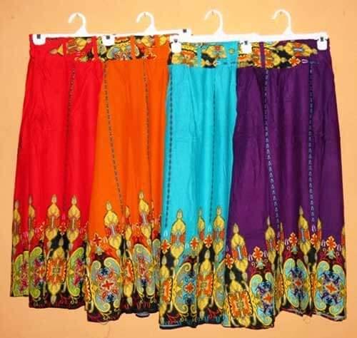 contoh busana dari kain katun bangkok
