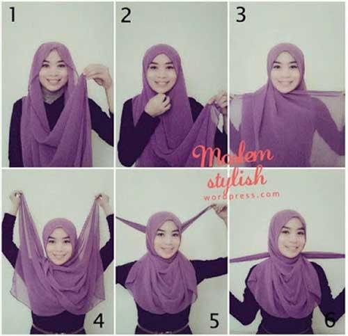 model-jilbab-pashmina-modern