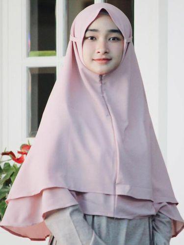 contoh jilbab bergo instan