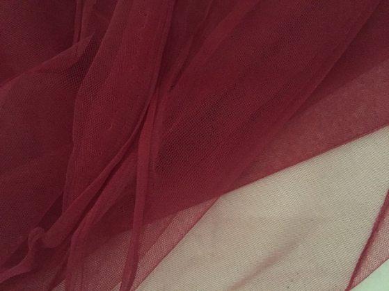 contoh bahan kain tulle