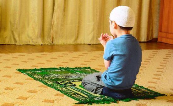 pengajaran sholat pada anak