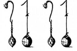 ilustrasi bandul batik