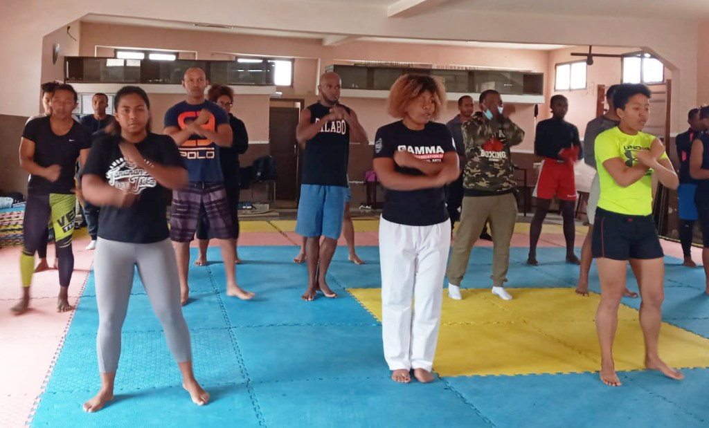 GAMMA Madagascar Gears Up For Championships With Striking MMA Seminar