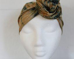 Hårband | Grön batik