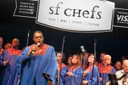 The Glide Memorial Church closing out Sunday in the Grand Tasting Tent
