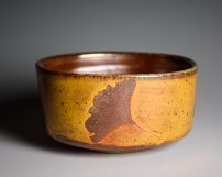 Gold Gingko Bowl