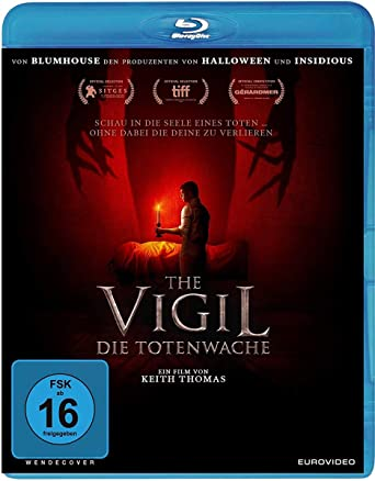 The Vigil Film Kritik Bluray Cover