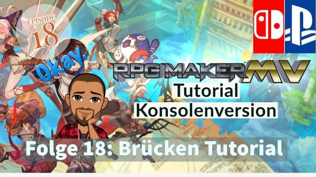 RPG Maker MV Tutorial Kosnolenversion - Folge 18 Cover von Big Frank Gaming (Youtube)