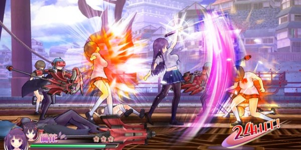 Valkyrie Drive: Bhikkhuni has some surprisingly deep combat