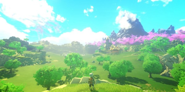 Yonder: The Cloud Catcher Chronicles features a beautiful open world