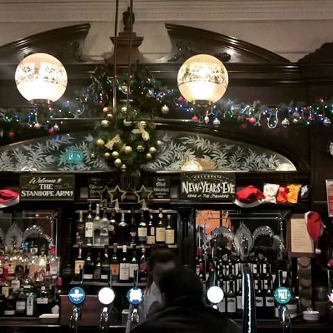 Instagramnews... #london #pub #thestanhopearms #beautiful #goodbeer