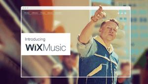 Crea tu sitio web de música gratis