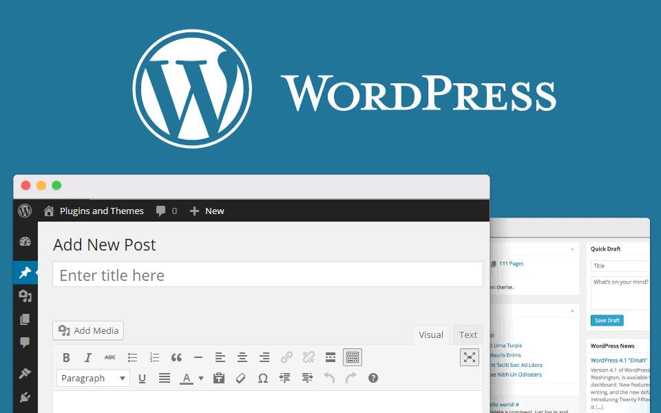 Resultado de imagen para blog en WordPress