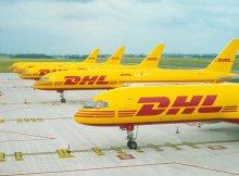 aviones DHL Express