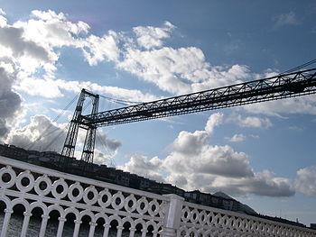 English: Biscay Bridge. Portugalete. Getxo. Bi...