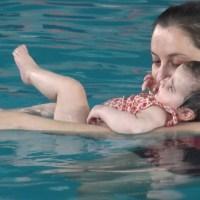 Matronatación: mamás y bebés al agua #Matronatación