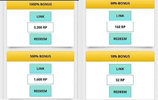 Tipos de Bonus FreeBitcoin