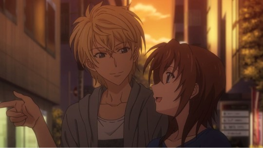 golden time episode 14 mitsuo linda
