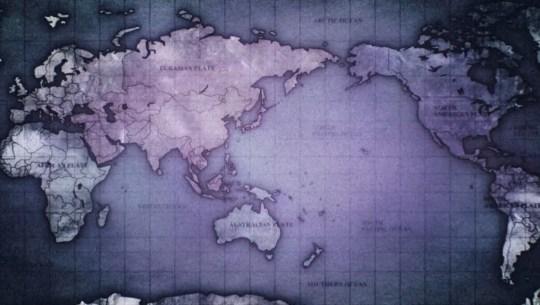 Mahouka world map