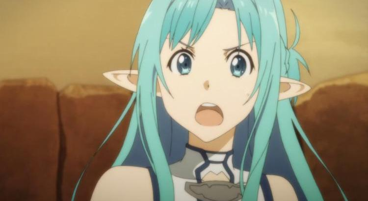 Sword Art Online II Episode 20 Review Asuna ALO