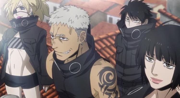 Gangsta Anime Episode 10 Review Destroyers