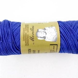 Zepelín color azul 10 de algodón perlé 100% egipcio