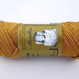 Zepelín color miel 41 de algodón perlé 100% egipcio