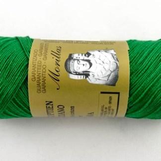 Zepelín color verde 12 de algodón perlé 100% egipcio