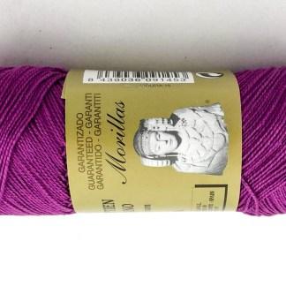 Zepelín Color VIOLETA 15 de algodón perlé 100% egipcio