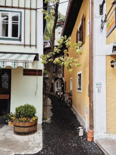 Colourful narrow streets