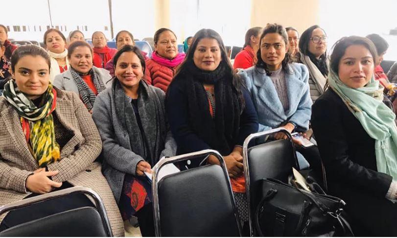 राष्ट्रपतिकी छोरी महिला संघको केन्द्रीय सदस्य