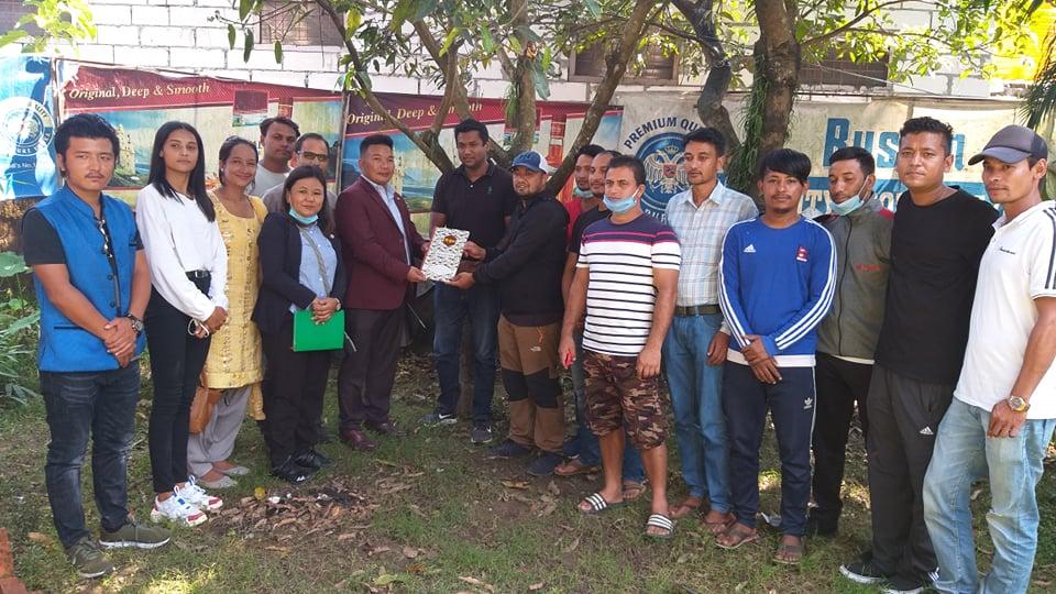 नेपाल मार्शल आर्टस हाप्किडो संघ पर्वतको अध्यक्षमा श्रेष्ठ