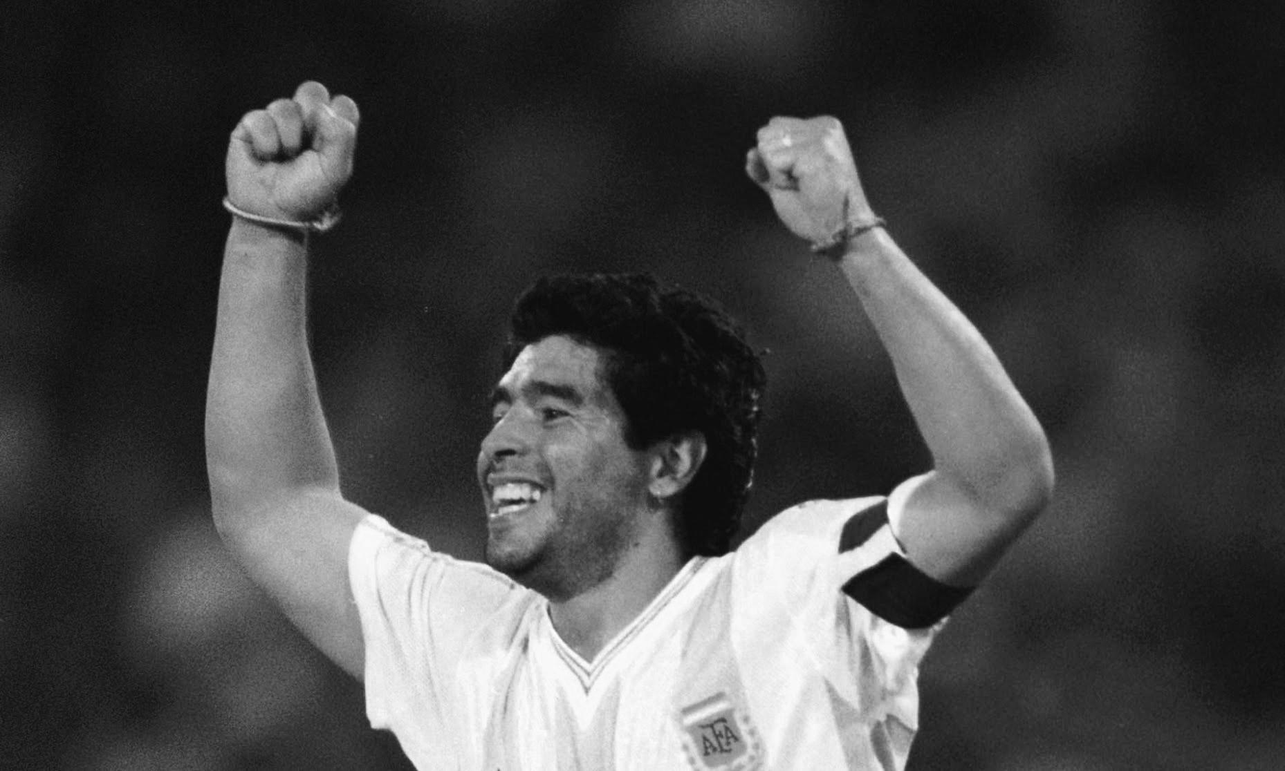 चर्चित फुटबलर डिएगो म्याराडोनाको निधन