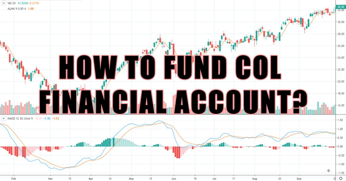 how to fund col financial account