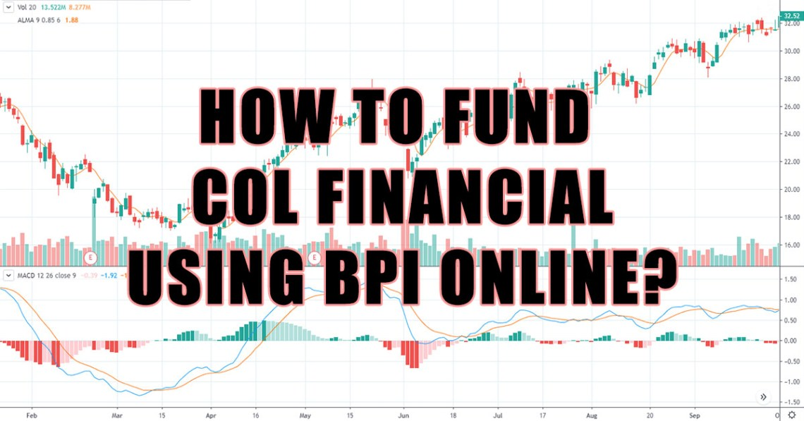 how to fund col financial using bpi online