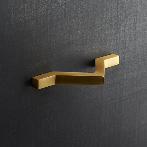 chevron-brass-handle